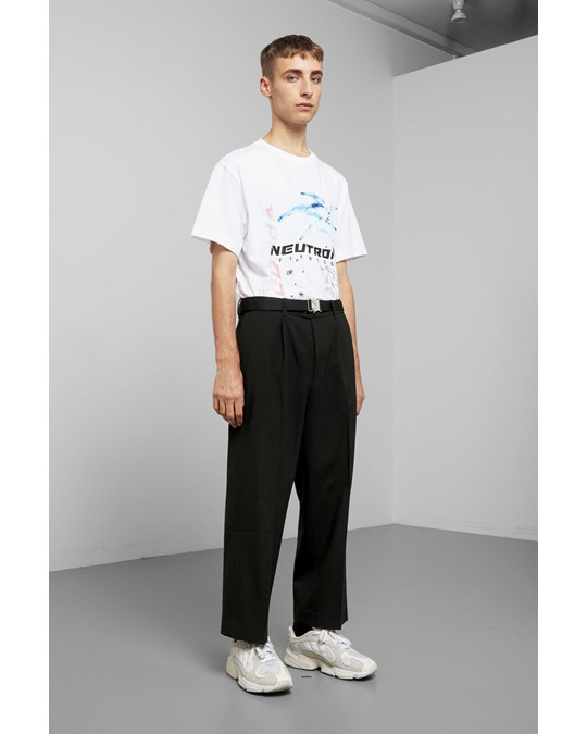 Weekday Colin Trousers Black