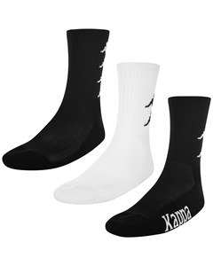 Socks, Auth. Asaf 3-pack Black-white