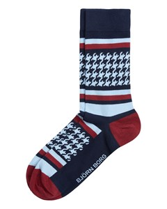 Sock Bb Checkstripe Single Pack