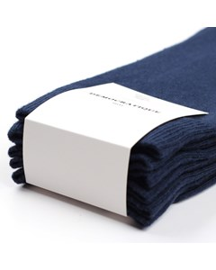 Democratique Socks Originals Solid 3-pack Navy Navy