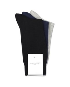 Originals Solid 3-pack No Brainer Navy, Black, Light Grey Melange Navy, Black, Light Grey Melange