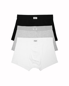 Original Trunk 3-pack Black/grey Melange/white