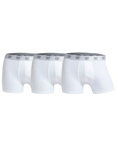 Cr7 Basic Trunk, 3-pack White/white/white