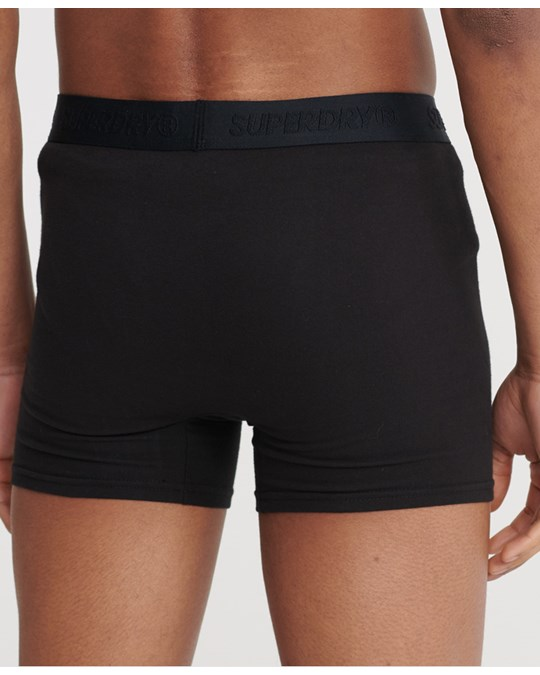 Superdry Classic Boxer Triple Pack Black Multipack