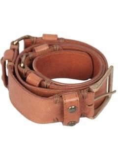 Massimo Dutti Tan Leather Belt Size 80