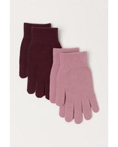 Magic Gloves 2-pack Roze