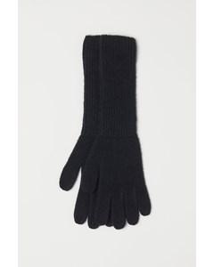 Elsie Kasjmier Handschoenen Zwart