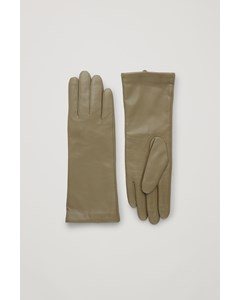 Wide Gloves Khaki