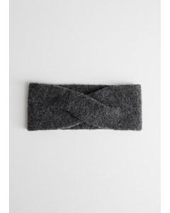 Buda Stirnband Grau