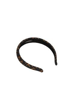 Fendi Nylon Headband Brown