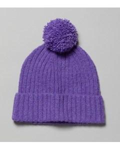 Evin Pom Beanie Purple