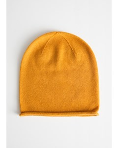 Soft Knit Beanie Yellow