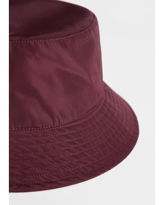 Bucket Hat Nylon Red