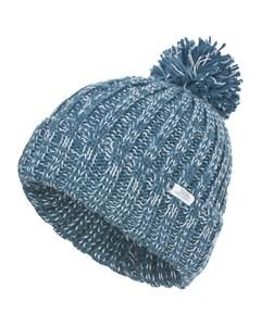 Trespass Womens/ladies Lockhart Knitted Winter Bobble Hat