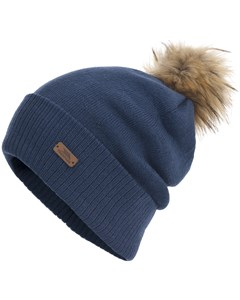 Trespass Womens/ladies Kharis Knitted Winter Slouch Pom Pom Hat