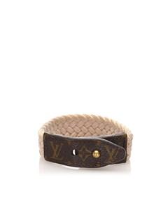 Louis Vuitton Monogram Bracelet Brown