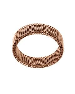 Sand Ring Thin Matt Rose Gold