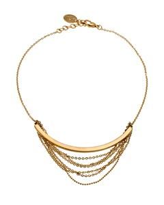 Draper Necklace Short Matt Gold