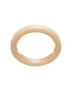Materia Ring Slim Ceramics White