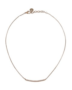 Line Necklace Rose Gold