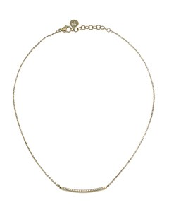 Line Necklace Gold