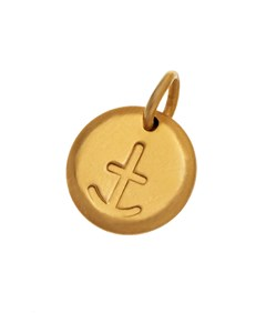 Charmentity Anchor Small Gold