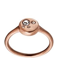 Muro Ring Round Matt Rose Gold