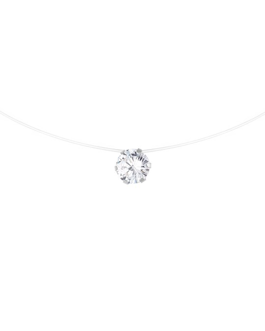 BE LOVED Be Loved - Silver Solitaire Necklace - Woman