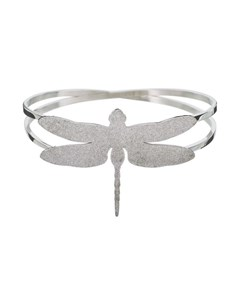 Dragonfly Bangle Sparkle Steel