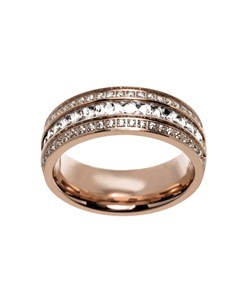 Ebba Ring Rose Gold