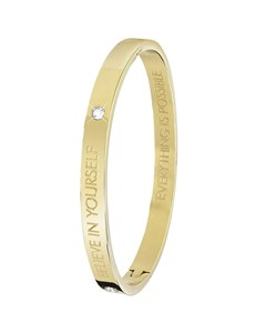 Guess Stalen Armband Bangle Goldplated Believe