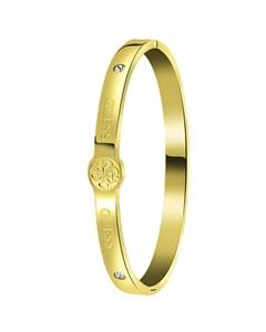 Guess, Edelstahl, vergoldet, 4G-Logo