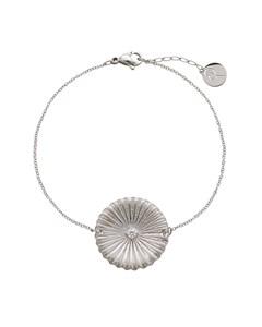 Crinkle Bracelet Matt Steel