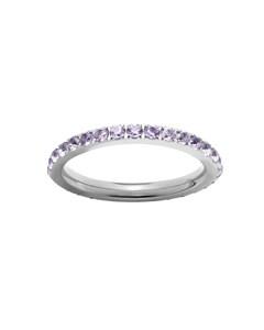 Glow Ring Violet Steel