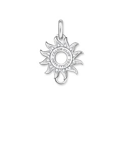 Carrier Sun Pavé 925 Sterling Silver