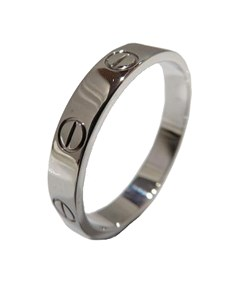 Cartier Love Ring Silver