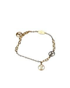 Louis Vuitton Logomania Bracelet Gold
