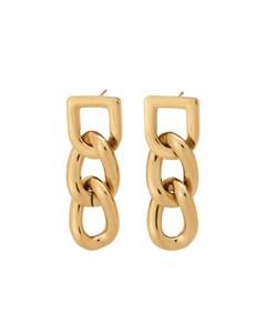 Bond Earrings Gold