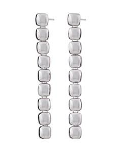 Isle Earrings Long Steel