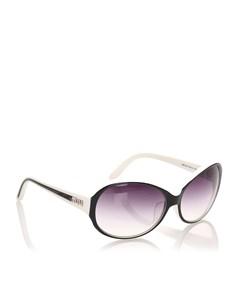 Miu Miu Round Tinted Sunglasses Black
