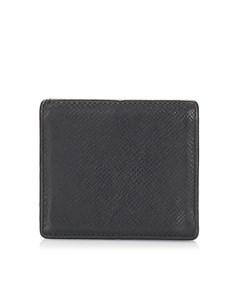 Louis Vuitton Taiga Box Coin Purse Black