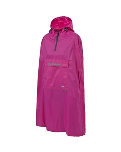 Trespass Qikpac Unisex Hooded Waterproof Packaway Poncho