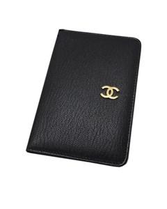Chanel Leather Agenda Cover Black