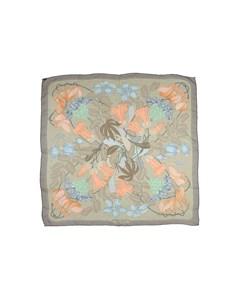 Hermes Flora Graeca Silk Scarf Gray