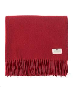 Aurora Wool Scarf Red Dahlia