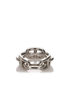 Hermes Regate Scarf Ring Silver