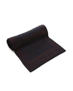 Louis Vuitton Printed Wool Scarf Black