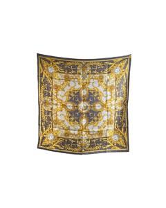 Hermes Vintage Silk Scarf Horloges Et Muses Cathy Latham