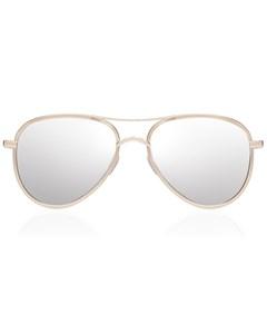 Luxe - Empire Gold W/ Silver Mirror Lens