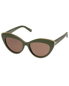 Beautiful Stranger Matte Khaki W/ Brown Mono Lens